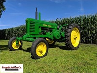 John Deere Antique Tractor Online Auction