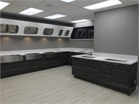 Brand New Complete Showroom-Sink Display & Cabinets