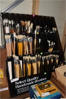 Artist Supplies & Paintbrush Online Only Auction