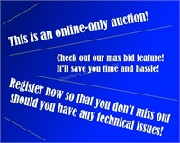 Online-Only Culp Auction