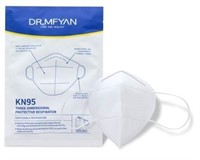 KN95 Dust Masks THREE - DIMENSIONAL PROTECTIVE RESPIRATORS