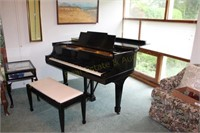 Steinway Piano, Furniture, Collectibles, Online Only Auction