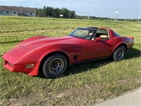 Corvette, Lawn Tractors, Antiques, Tools, Coins -July 14th