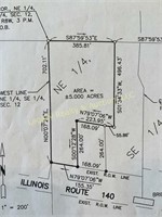 2 Adjoining Properties North of Edwarsville, on 6+ Acres